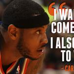 Carmelo Anthony says he wants to return to New York but doesnt know if he can afford another season of losing. » http://t.co/feTwOt50Mn