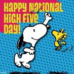 "@KeriHerman is this ur fav day?! ""@OnlyInBoulder: *Happy High 5 Day*  ... #NationalHighFiveDay  https://t.co/NTNh62EugT"
