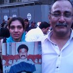"RT @SsamanJay: MPA Shazia baji.Farooq Dada shaheeds wife""@NidaYousufzai: Am short of words to share your pain my sis #MQMProtest http://t.co/0GL5Of6uBK"""