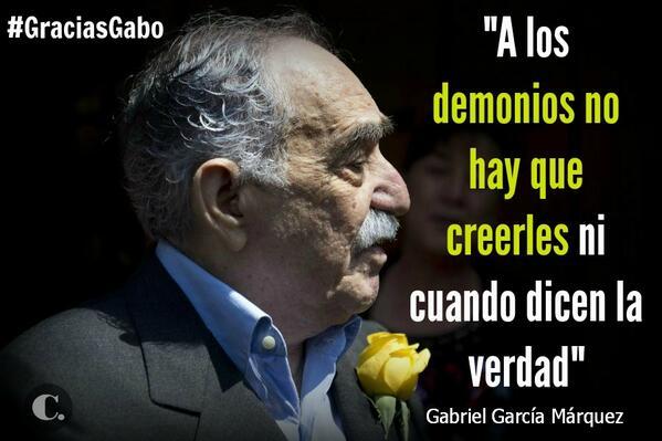 #GraciasGabo, Gabriel García Márquez, una vida de mariposas amarillas  http://t.co/1bvnSxYz3P http://t.co/QgtXBa926T
