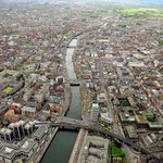 RT @PhotosOfDublin: Looking west over Dublin city. Credit to @defenceforces http://t.co/1O8GRfvIub