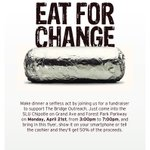 #endhomelessness Present flyer 2 Chipotle on Grand-4/21, 3-7pm-50% of meal supports @STLBridge #stl Pls RT http://t.co/QKzpkLxolU