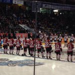 "RT @Storm_City: Great shot. Two great teams ready for battle. @Storm_City vs. @ErieOtters. Puck drop: NOW --> ""@shamleaf: http://t.co/X2MXRfZBae"""