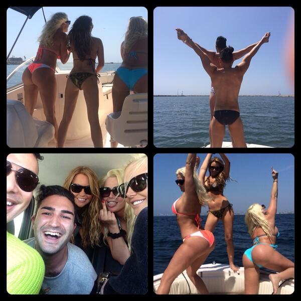 Boat day! @karissashannon @KristinaShannon #Summertime #California #LifeIsGood http://t.co/HWGVGczIpq
