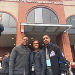 RT @cgrand3: Its an honor to spend the @Mets off day in my hometown of #Chicago unveiling our new stadium at @uicflamesdotcom http://t.co/gWGEjcKECB