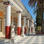 Terrace of the Muses, Achilleion, Corfu, #Greece. @ATHNICO http://t.co/fRrUt1FzfS