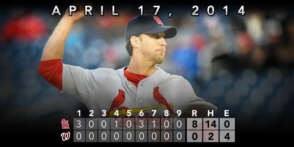 RECAP: Adam Wainwright hurls complete game, 2-hit shutout AND records 2 hits in #STLCards win: http://t.co/POHFvVf5tq http://t.co/WNUsxZmOrj
