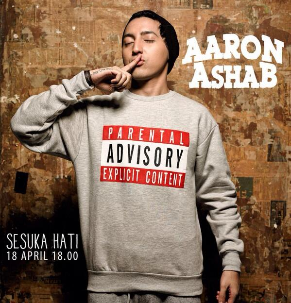 Download Lagu Thanks You Next: Download Lagu Aaron Ashab – Sesuka Hati Mp3