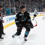 Sharks take Game 1! San Jose scores 5 early goals and never looks back, beating Los Angeles, 6-3. http://t.co/EFch9PtaCk