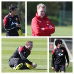 Its a good Friday in Manchester, with the sun shining on #mufcs morning training session. http://t.co/xrLor6Iur4
