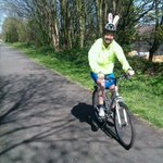 RT @al_swifty: One happy bunny! Easter bunny ride to Alder Hey down the Loop Line. @SustransNW http://t.co/vDZWxMDGZT