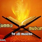 Jumma Mubarak to all Muslims Momneens and Mominat . http://t.co/ZIyxfKgDhY