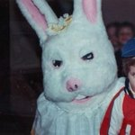 RT @BuzzFeed: 19 Vintage Easter Bunny Photos That Will Make Your Skin Crawl http://t.co/l8ez3AXAJz http://t.co/qi8uEyPYF5