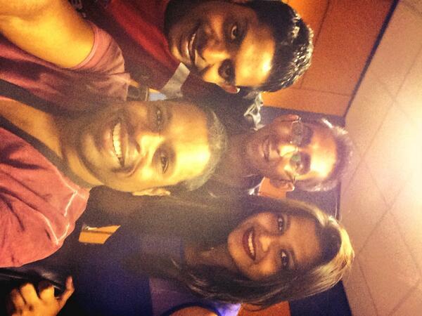 neville pillay (@topdan): Team selfie @ShaastraN @althafsuleman http://t.co/MuRB83LY49