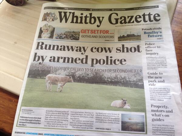 The #Whitby gazette has surpassed itself #Yorkshire http://t.co/JXKrwBU4PY