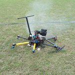 We nearly got hit by this drone as it came crashing down at Ellis Park stadium. Still no sign of President Zuma. http://t.co/hnWwbpNVvJ