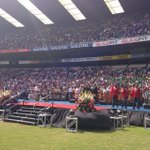 #Easter Crowd on their feet for Zuma. TYN http://t.co/k5uDPlNpSd
