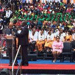 President Zuma addressing the Universal church at Ellispark http://t.co/Q46Ll5A3VA