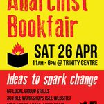 Follow #BAB2014 for updates & discussion on Bristol Anarchist Bookfair - Sat 26 April @TrinityBristol #bristol #books http://t.co/Tyj40f4PQH