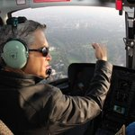 Mexico City Mayor @ManceraMiguelMX airborne to survey quake damage. http://t.co/eFPatpP3r7 MT @MexicoTimes @Milenio @RubenNews