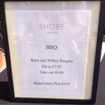 Today on the BBQ @TheShoreCafeBar http://t.co/vrp8tlNy1z