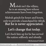 #Afridi the hero and #Misbah the villain writes @msohaib3088 http://t.co/LLLI1MuWvI #Pakistan #cricket http://t.co/tu8kOhhVwT