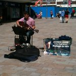 James Lamb playing Some great music near The Moors in #sheffieldissuper http://t.co/uruhnY1FBr