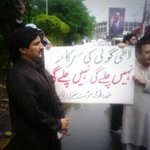 Spotted @AftkharRandhawa at #MQMProtest outside Lahore Pressclub http://t.co/dUc1qy0QyM