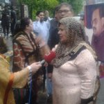 RT @oOol_JaLoOl: MQM Senator Tahira Asif briefing Media at #MQMProtest outside Lahore PressClub, its heavy rain here. @hrw http://t.co/kZID977D3f