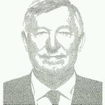 Handwritten Sir Alex Ferguson portrait, using all of the #MUFC players that played under him. Amazing! [@artmouse79] http://t.co/K8ln0FMbsA