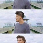 Zayn transformandose en Louis durante You&I  #YouAndIToday http://t.co/xr4sa75WwB
