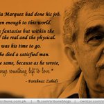 Love in the time of Marquez writes @FarahnazZahidi http://t.co/yjxdcKCsJE #Pakistan #GabrielMarquezGarcia #Tribute http://t.co/DZ1TDkKtID