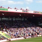 Sheffield Wednesday fans at Bournemouth today. #SWFC http://t.co/4subFtAAkg