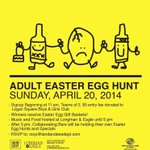 #Chicago: Ready to get your egg hunt on? Adult Easter Egg Hunt at @longmanandeagle is Sunday: http://t.co/QrOYGswR7C http://t.co/R0ym8XqcQm