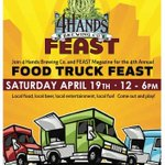 Just a reminder on Saturdays @4HandsBrewery #FoodTruck Feast. Hope to see you there! #stl #craftbeer http://t.co/UB7Z1Anq6Z