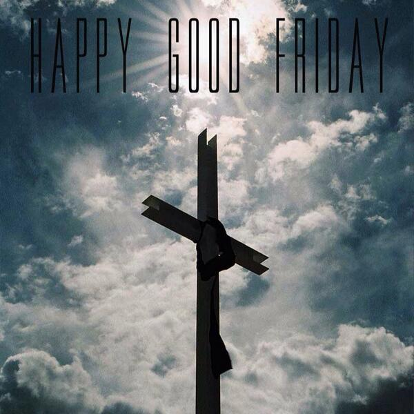 It's Good Friday! Let's all remember what Jesus did for ALL of us!   John 3:16, 17 NIV http://t.co/2aSkg2HVug