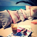 RT @Symellalazari: #frappe #marieclaire #greece #beach #love http://t.co/4xgWtvBR4M