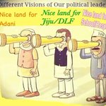 Different vision of our political leaders BJP ,CONG,AAP @AamAadmiParty #CongGoonsAtAmethi http://t.co/RwXWqulaDR