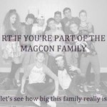 RT @LovingSweeTreat: RT IF ur part of the MAGCON fam #RIPMagcon I never though I feel this depress before I ❤ u guys all plz keep in touch http://t.co/xCUHfm57OO