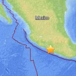 Per @USGS: 7.5 magnitude earthquake hit near Petatlan, Mexico on S.W. Coast. http://t.co/Fzck8gT0v2