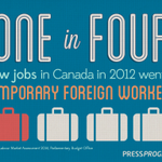 RT @pressprogressca: 1 in 4 news jobs in 2012 went to #TFWs. #cdnpoli #canlab #cdnimm http://t.co/p8pBnvi25a