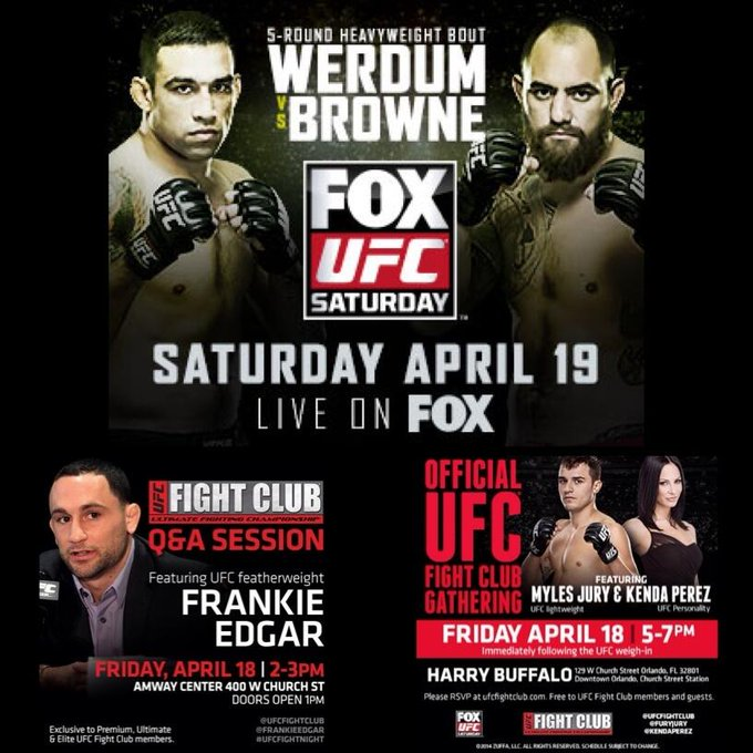 Happy #FightClubFriday! We have a busy day ahead of us! FC Q&A, #UFCFightNight on FOX weigh-in, then the FC party! http://t.co/viE0flOEQn