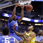 RT @UKAthletics: Marcus Lee has decided to return for his sophomore season. Opponents better be ready to box out @SuperKingMe. http://t.co/KsSta8Eyd1