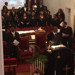 Spiritual songs, words of praise at Good Friday service at Ebenezer AME Church. @Live5News #Charleston #chsnews http://t.co/NhGVbmWmHx