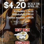 RT @hotboxcookies: Were handing out 24 FREE COOKIES to one lucky Cookie Monster! RT to enter! Ends @ 9pm tonight! http://t.co/SyWBPDSZLQ