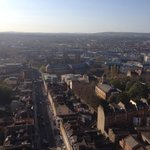 Its hot up at the top of wills tower tour tomorrow nice and sunny please #bristol @BristolUni @BestLandmarks http://t.co/mti3DDfwIS