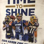 These guys are ready for the @ZipsFB Spring Game, are you? See you tomorrow at 1pm #TimeToShine #GoZips http://t.co/79BHEN4TrJ