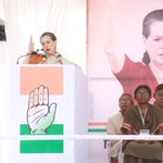 Sonia ji addressing a rally at #Neemach #MP @HasibaAmin @mazhar_jafri @HRLSharma @anchanlata @anchan_shaila http://t.co/zJaZefjBXW