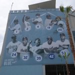 RT @Dodgers: New additions to the facades of the stadium: http://t.co/Q6zOqYrT1B