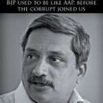 RT @maheshmurthy: A message for the voters from BJPs Chief Minister, Manohar Parrikar http://t.co/E9REtVJUwL